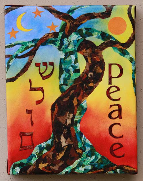 """Shalom/Peace"" on Dancing Together at Twilight"