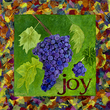 Joy on Grapes