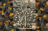 Woodcut Tree, Philadelphia Winter